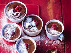 Chocolate mousse with raspberries | News | Lorraine Pascale