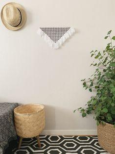 Amara | Handmade Fiber wall art | Contemporary wall art | Triangular Wall hanging | Fiber canvas | Fabric art | Modern fiber | Home Décor