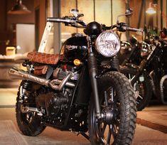 Triumph Street Twin project by BAAK Motocyclettes workshop
