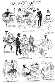 Ces dames du ballet : notes de carnet par Mars