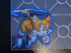 Tails Fly Sonic perler beads by Vickicutebunny on deviantART