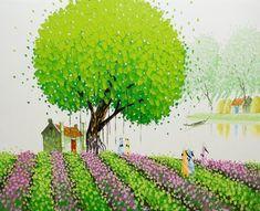 Интересное в творчестве современных художников и фотографов: Современные вьетнамские художники. Phan Thu Trang