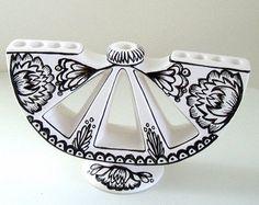 Hand made menorah - this is beautiful!