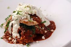 Rick Bayless' Chilaquiles-Tortilla Casserole with Spinach and Zucchini Recipe from the new Frontera Fiesta Website