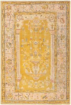 View this lovely antique Turkish Oushak carpet which is currently available for sale at Nazmiyal Collection in New York City. Room Rugs, Area Rugs, Mustard Rug, 6 Photos, Pictures, Rugs On Carpet, Shag Carpet, Dark Carpet, Bedding
