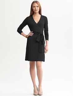 Gemma wrap dress | Banana Republic