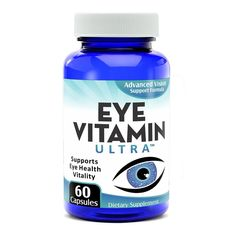Complete Eye Support Supplement: Eye-Vitamin Ultra – Elevate Recovery…