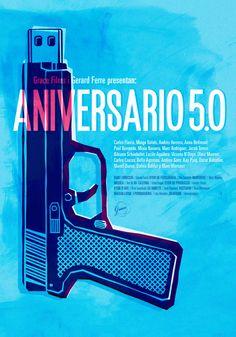 ANIVERSARIO 5.0  Shortfilm poster by OuYeah!