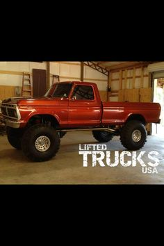lifted ford truck