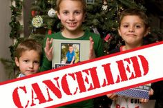 A mum has cancelled Christmas to teach her three 'disrespectful' sons a lesson.
