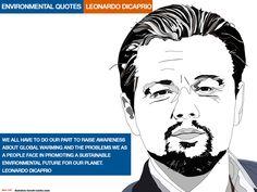 Leonardo-Dicaprio environmental quotes. Illustrations Kenneth buddha Jeans