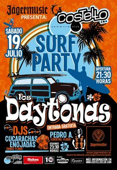 Los Daytonas @ Costello Club 19 de julio de 2014