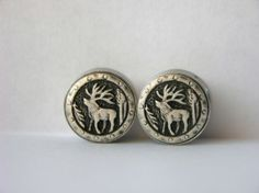 Moose Plugs 9/16 3/4 Inch 14mm 19mm Sale by arksendeavors on Etsy, $20.00