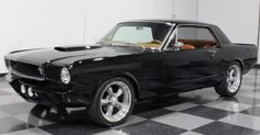 classic American muscle cars 1965 Ford Mustang V8 Coupe