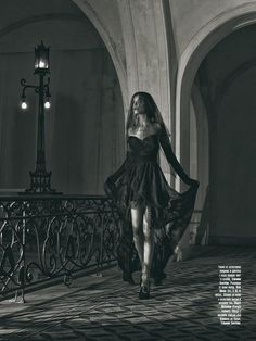 """Georgi Andinov Captures """"Black Magic"""" for Amica Bulgaria November 2012 