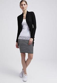 Zalando Essentials - 2 PACK - Blyantnederdel / pencil skirts - black/white