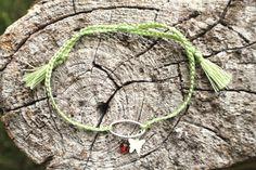 Hey, I found this really awesome Etsy listing at https://www.etsy.com/uk/listing/384618072/friendship-bracelet-ligth-green-nylon