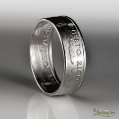 This coin ring was handcrafted from a solid silver Puerto Rico state quarter. Puerto Rican Slang, Puerto Rico State, Quarter Ring, Silver Quarters, Coin Ring, Puerto Ricans, Low Lights, Rings For Men, Silver Rings