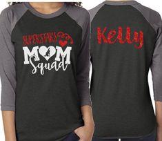 Glitter Dance Mom Squad Shirt Dance Shirt That's My Dance Mom Shirts, Sister Shirts, Squad, Team Mom, Sports Mom, Team Shirts, Couple Outfits, Dance Moms, My Girl
