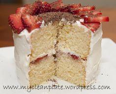 Simple Vanilla Gluten & Lactose Free Cake with buttercream (Low FODMAP)