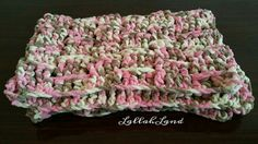 """Super soft baby blanket.  Made with bernat baby blanket yarn. 25""""x38"""" $35 + shipping"""