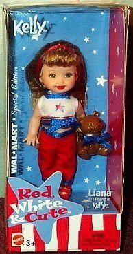 Barbie Kelly Liana in Red White and Blue 4 Doll by Mattel, http://www.amazon.com/dp/B000M6R3X4/ref=cm_sw_r_pi_dp_RmFZrb037FHC2