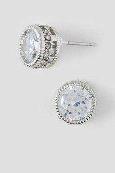 Clearwater Crystal Stud Earrings