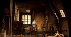 La Boheme at the Roy - La Boheme at the Royal Opera House. Production by John Copley. Sets by Julia Trevelyan Oman. --- #Theaterkompass #Theater #Theatre #Schauspiel #Tanztheater #Ballett #Oper #Musiktheater #Bühnenbau #Bühnenbild #Scénographie #Bühne #Stage #Set