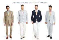 daytime semi formal wedding dress code men - Google Search