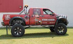 Ottawa Car Wrap - OAMA Monster Truck