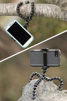 The best tripod for iPhones and other smartphones. Perfect for hiking and adventures. Take better time lapses and photos.