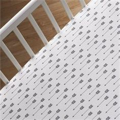 Woods - Fitted Sheet - Arrow Print
