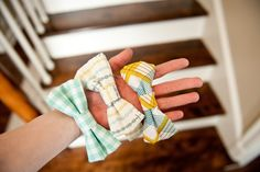 New DIY Craft Project: How to Make the Cutest Boy's Bowtie. I'm so doing this for Easter.