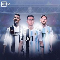 💬 Dybala: Messi and Ronaldo are aliens. My task is to become the best among people. Messi And Ronaldo, Ronaldo Soccer, New Fashion, Trendy Fashion, Cr7 Junior, Goalkeeper Training, Cristiano Ronaldo Wallpapers, Transfer News, Free Kick