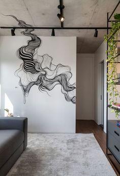 Decoration Inspiration, Room Inspiration, Mural Art, Wall Murals, Wall Painting Decor, Wall Paintings, Appartement Design, Room Decor, Wall Decor