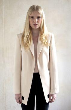 // feminine and fresh phillip lim-esque young aussie designer, #karlaspetic