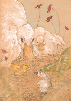 The Ugly Duckling::Spring by *Rikae on deviantART