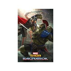Thor: Ragnarok - Thor, Hulk Poster ($13) ❤ liked on Polyvore featuring home, home decor, wall art, movie posters, movie wall art, hulk movie poster, incredible hulk poster and incredible hulk movie poster
