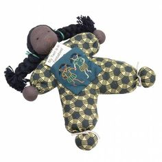 Twin Girl Doll. These cute and soft dolls are handmade by the women of Zimbabwe's Batsiranai Craft Project, which works to support mothers with disabled children. For every doll purchased, a girl in Zimbabwe will receive an identical doll. $28