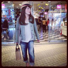 Shibuya 109 spring fashion trends 2012 hats courtesy of @loic bizel
