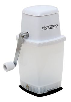 Quickly and easily prepare coarse or finely crushed ice for your favorite beverage with the VICTORIO VKP1126 Hand Crank Ice Crusher. Compact size of 9-1/2 inches x 4-1/2 inches x 6 inches makes it …