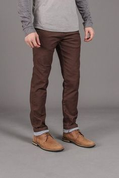 Contrast Roll Up Pant