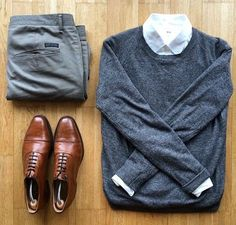 outfit grid Post with 224965 views. Outfit grids (not in blue) Mode Masculine, Casual Wear, Casual Outfits, Men Casual, Look Fashion, Autumn Fashion, Fashion Sale, Paris Fashion, Runway Fashion