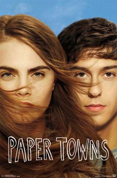 """Paper Towns on DVD October 2015 starring Nat Wolff, Cara Delevingne, Halston Sage, Cara Buono. Adapted from the bestselling novel by author John Green (""""The Fault in Our Stars""""), PAPER TOWNS is a coming-of-age story centering on Quenti Film 2015, 2015 Movies, Hd Movies, Movies To Watch, Movies Online, Teen Movies, Film Watch, Cara Delevingne, Love Movie"""