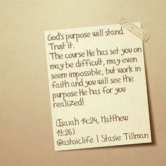 Goal: Living a purposeful life! #confidence #purpose #faith #faithinGod.