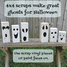 For the mantle? Or the table on the front porch...Quick & Easy Halloween Decor