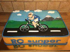 Bicycle cake