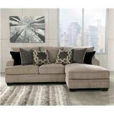 Katisha - Platinum 2-Piece Sectional with Right Chaise by Signature Design by Ashley at  sc 1 st  Pinterest : marlo furniture sectional sofa - Sectionals, Sofas & Couches