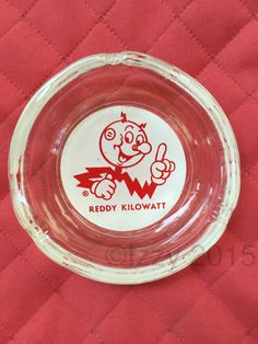 Classic Reddy Kilowatt Ashtray / Collectors Item / Collectible - pinned by pin4etsy.com