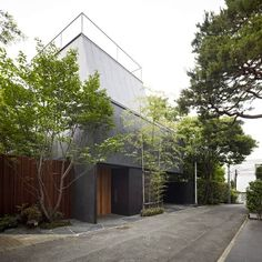 Architecture, Japanese Modern House With Black Painted Walls And Beauty Of  Japanese Garden Style Where The Natural Scene Of Living Plants As Outdoor  ...